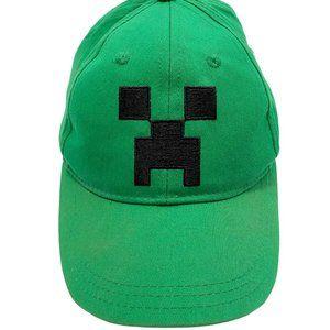 Mad Engine Green Minecraft Ball Cap
